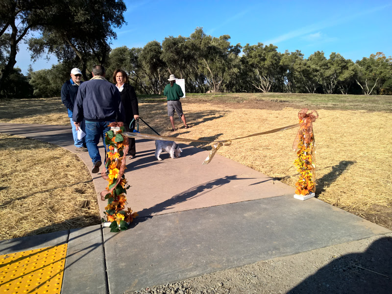 Sutter Park Trail Ribbon Cutting Ceremony - 2