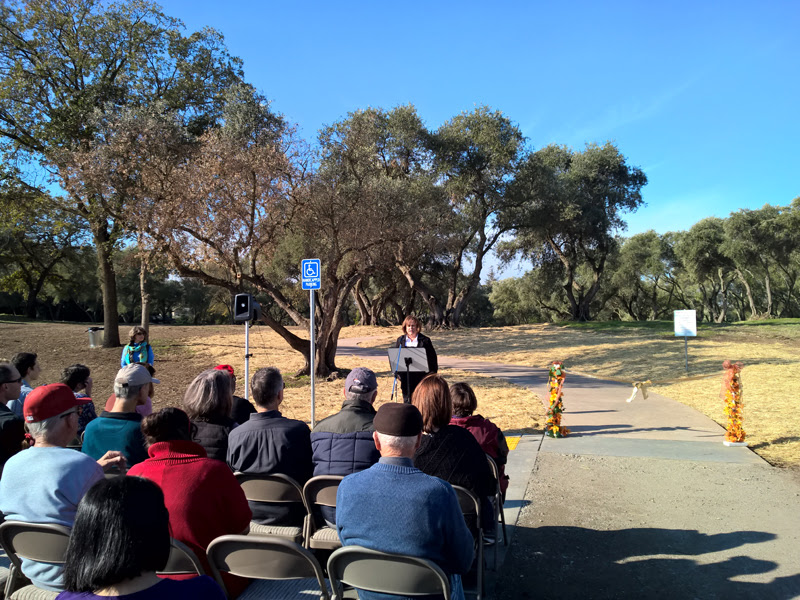 Sutter Park Trail Ribbon Cutting Ceremony - 10