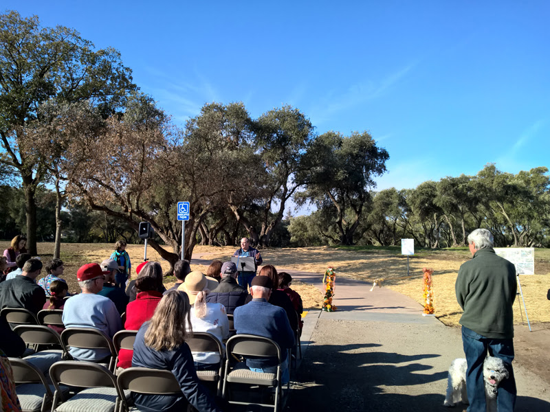 Sutter Park Trail Ribbon Cutting Ceremony - 11