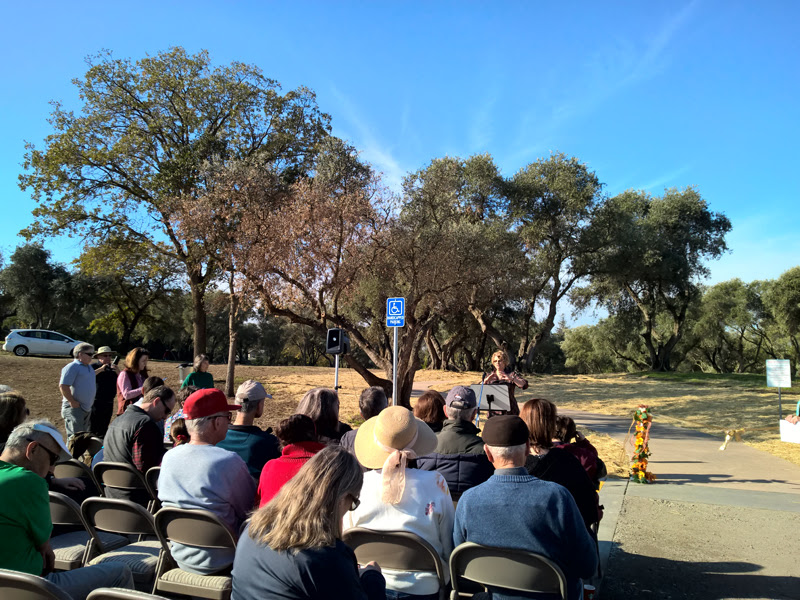 Sutter Park Trail Ribbon Cutting Ceremony - 12